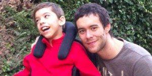 El 'terapeuta' de Borja tiene diez años y parálisis cerebral 1