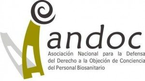 Nota de Prensa de la Asociación para la defensa del Derecho a la Objeción de Conciencia (Andoc) 1
