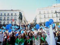 Más de 20.000 personas llenan la Puerta del Sol con un SI A LA VIDA 4