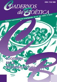 Cuadernos de Bioética Número 77 1