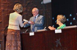 Benigno Blanco recibe el la medalla conmemorativa de Naciones Unidas 2