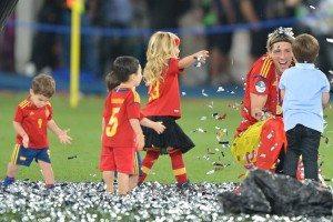 Un aplauso a... La selección Española de fútbol por su celebración en familia 2