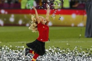 Un aplauso a... La selección Española de fútbol por su celebración en familia 4