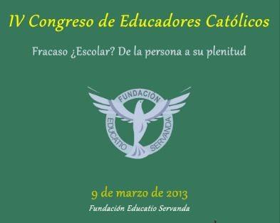 IV Congreso de educadores católicos 1