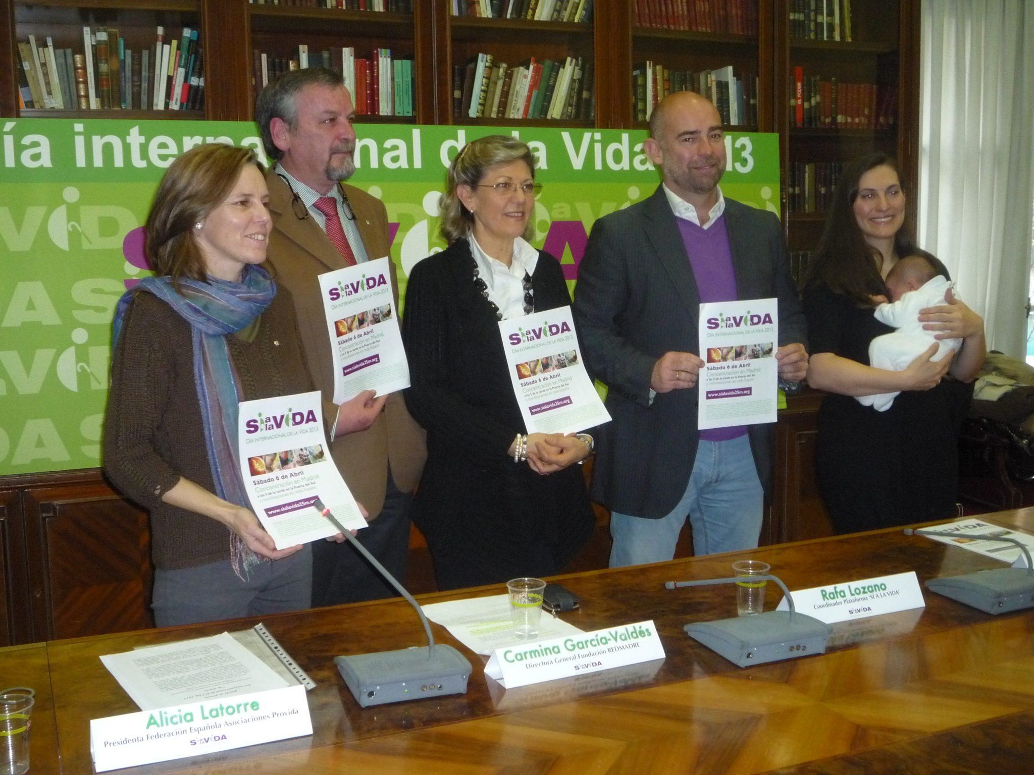 Un año más, una gran concentración en Madrid será el acto central del Día Internacional de la Vida en España 1