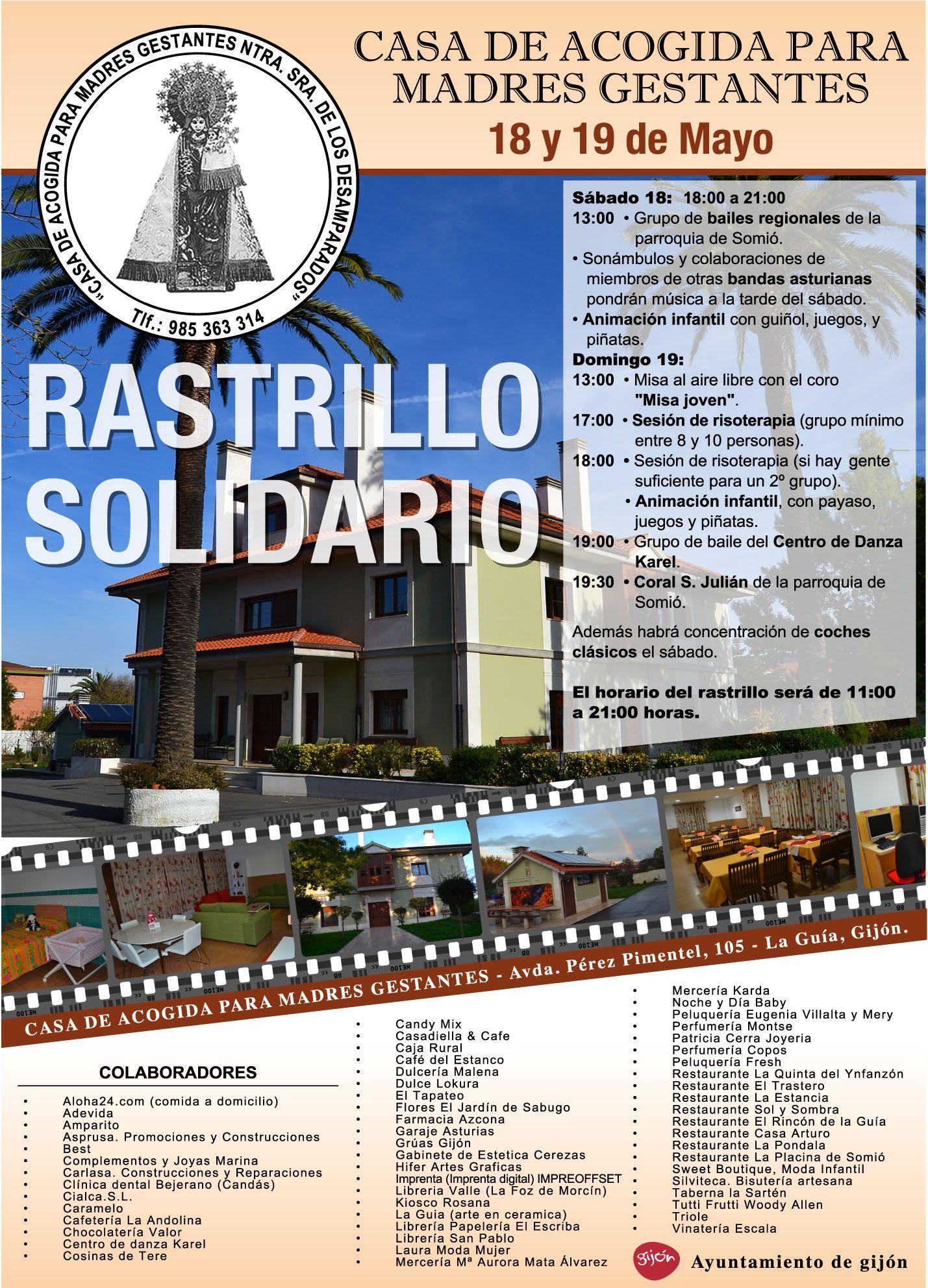 Rastrillo en Asturias en favor de la mujer embarazada 1