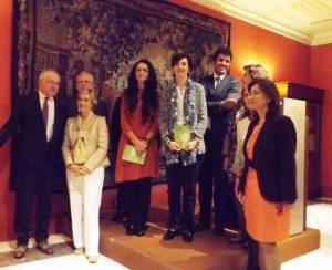 Con el jurado -fundación y ganadores