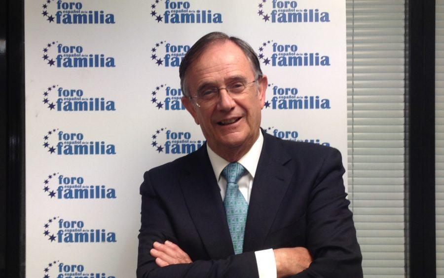Presidente Foro de la Familia, Mariano Calabuig.