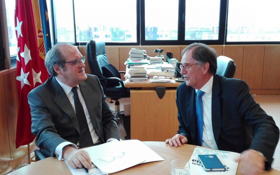 Mariano Calabuig y Ángel Gabilondo