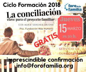 La conciliación, clave para el proyecto familiar 1