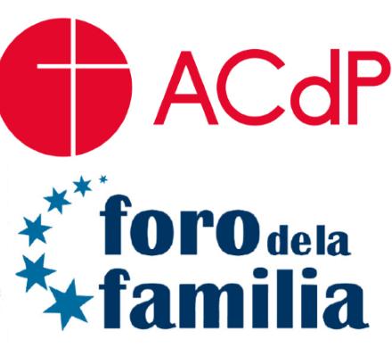 Acuerdo Foro de la Familia y ACdP para formar a jóvenes en Bioética y valores 1
