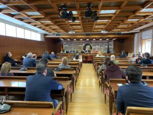 Visita al Senado de España Eutanasia No